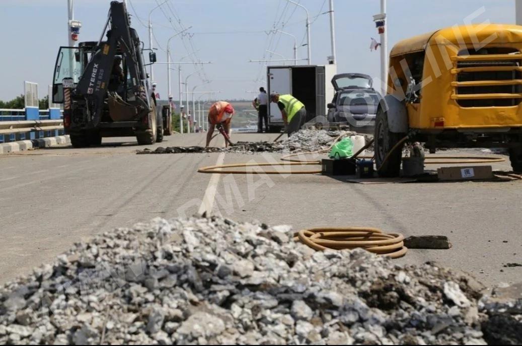 Сегодня начались работы на Урицком мосту. телефон +7 909 475 99 66 купить на сайте объявления Армавир онлайн