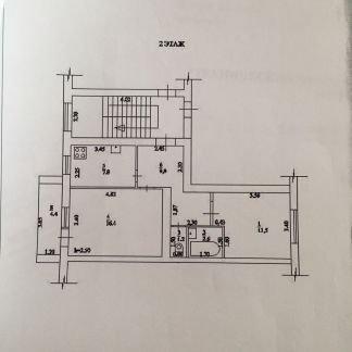 Продаю 2х комнатную квартиру, 49 м кв., 2/5 эт. . телефон +79186283291 купить на сайте объявления Армавир онлайн