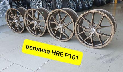 R18 5/112, HRE P-101 бронза, в наличии . телефон +79183870099 купить на сайте объявления Армавир онлайн