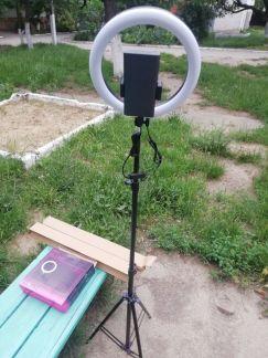 Кольцевая лампа для Визажистов . телефон +79956115975 купить на сайте объявления Армавир онлайн