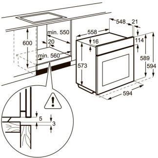 Электрический духовой шкаф Electrolux EOB53434AK . телефон +79184667007 купить на сайте объявления Армавир онлайн